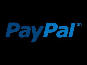 Logo de PayPal, una empresa estadounidense que opera un sistema mundial de pagos en línea que admite transferencias de dinero en línea y sirve como una alternativa electrónica a los métodos tradicionales en papel, como cheques y giros postales.