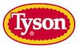 Logo de Tyson Foods, un proveedor de pollo.